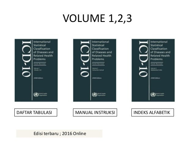 icd 10 pdf volume 1