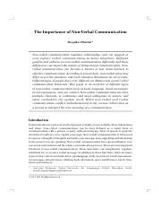 importance of communication pdf