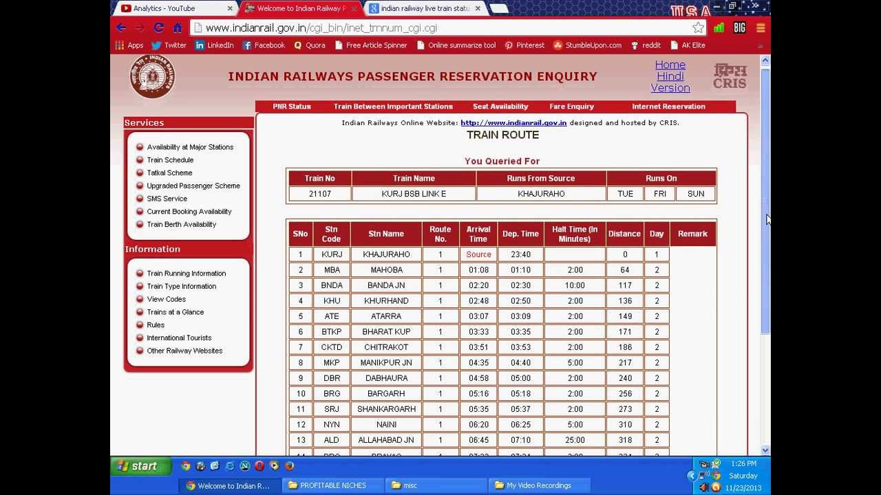indian railway time table 2018 pdf