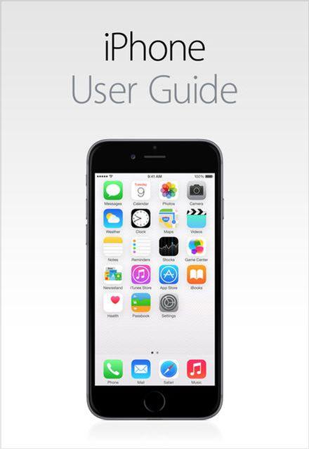 iphone 5s manual user guide