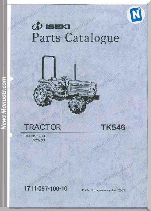 iseki 6500 parts manual