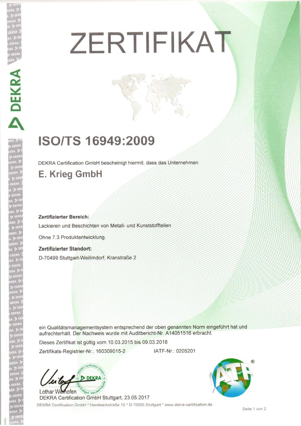 iso ts 16949 pdf español 2009