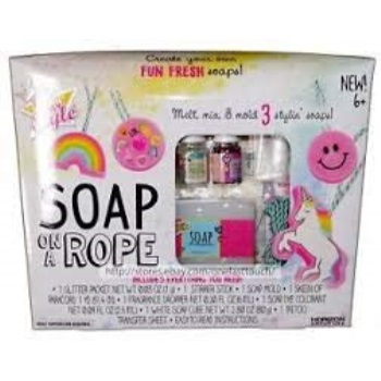 just my style soap on a rope instructions