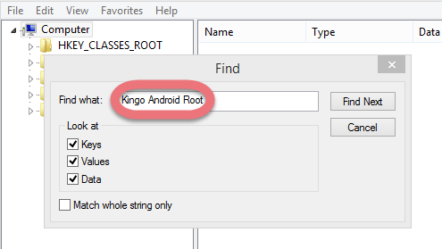 kingo android root instructions