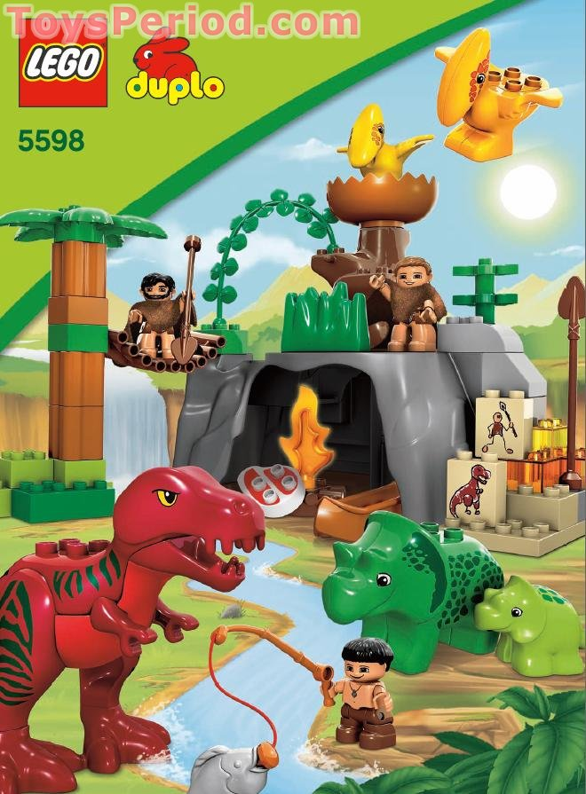 lego cave instructions
