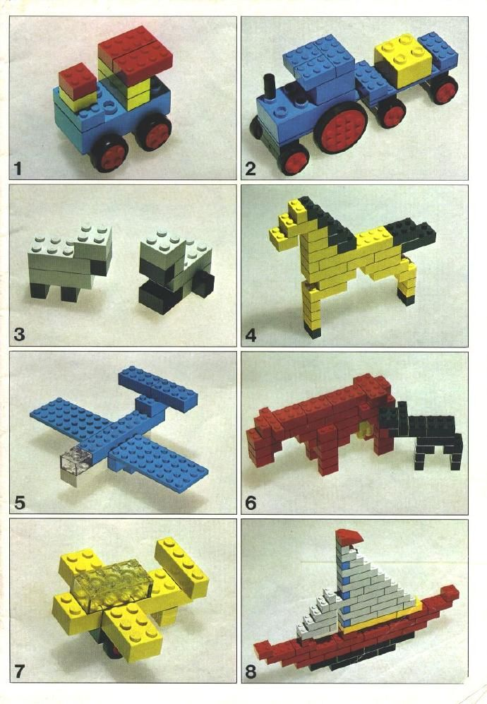 lego instruction books nz
