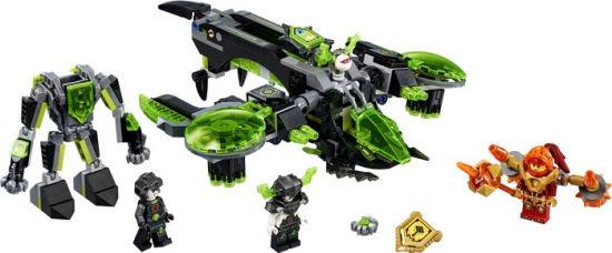 lego nexo knights berserker bomber instructions