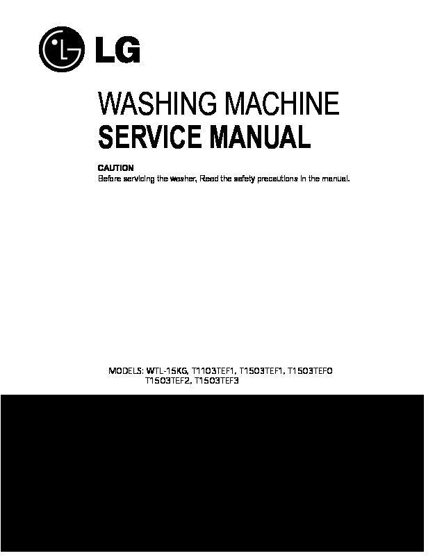 lg washing machine manual wf-t556