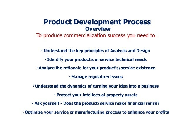 manual for new product development success