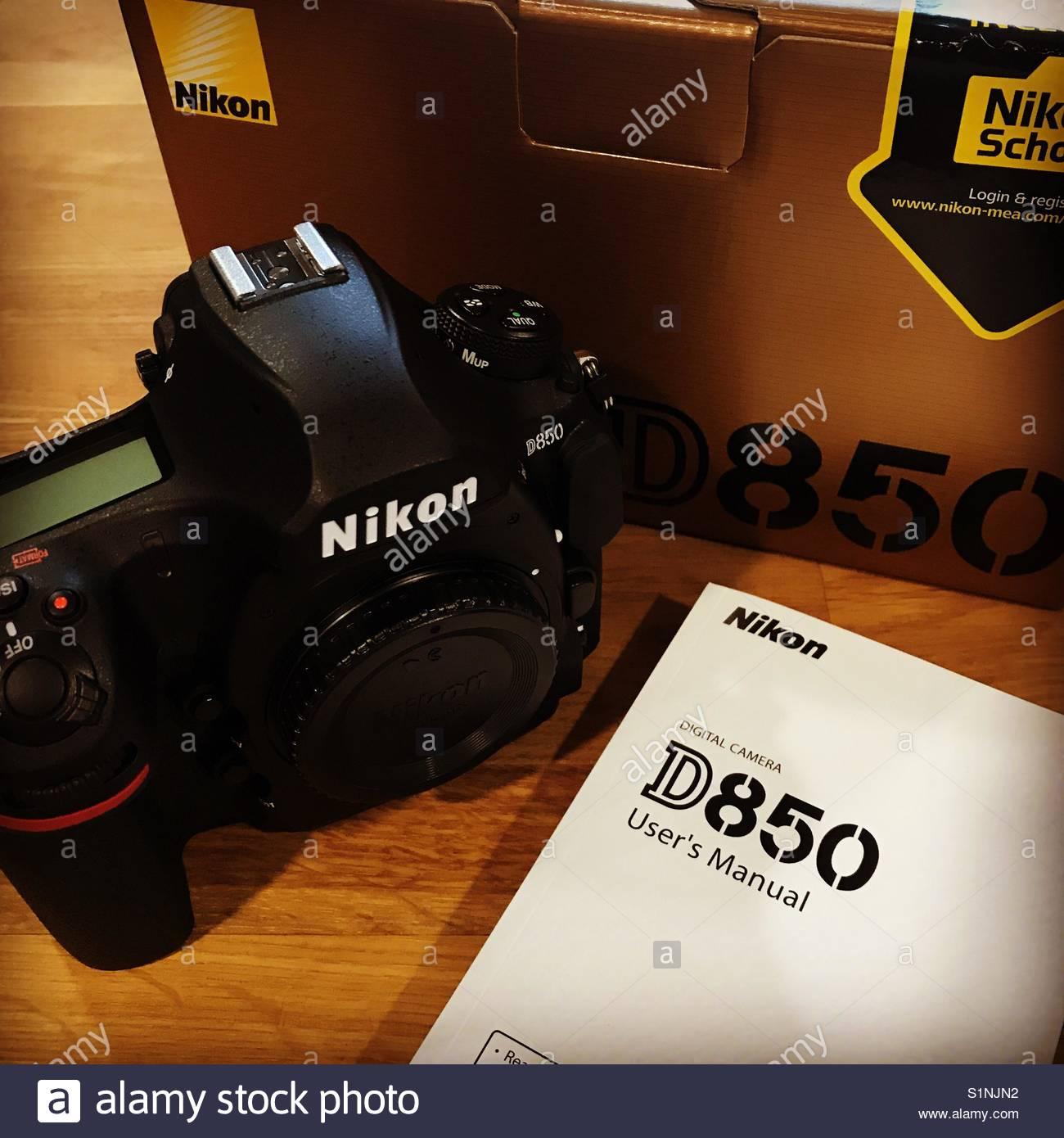 manual nikon d850