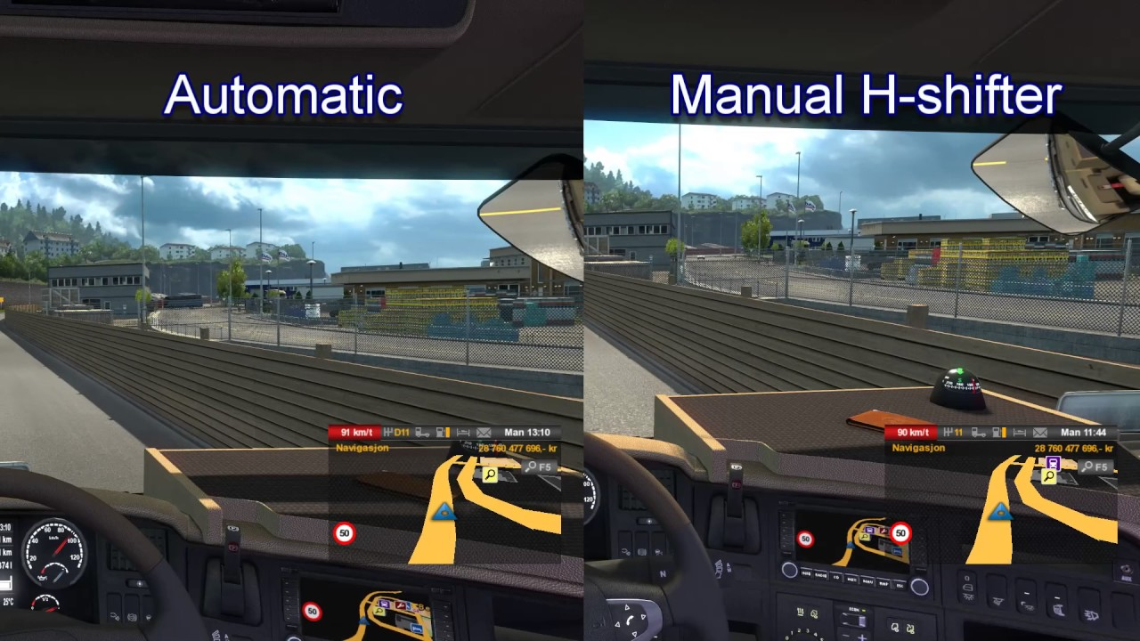manual vs automatic licence