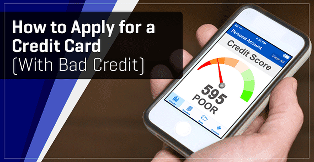 mastercard application for bad credit